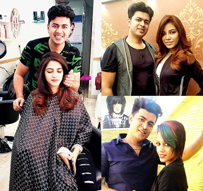 Best Hair Salon Mumbai India Celebrity Hair Stylist India